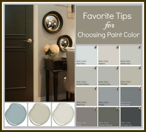 choosing paint for walls